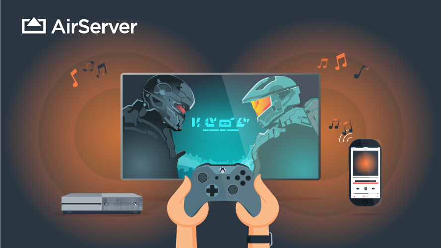 AirServer AirPlay op de XboxOne