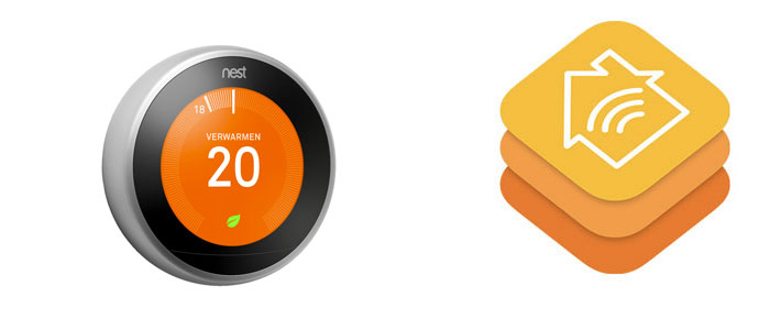 Nest compatible met Apple HomeKit?